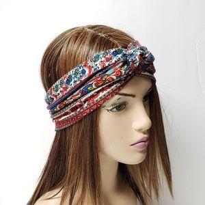 Persian Print Turban Headband, Cute Headwraps
